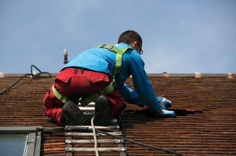 entretien toiture tuiles