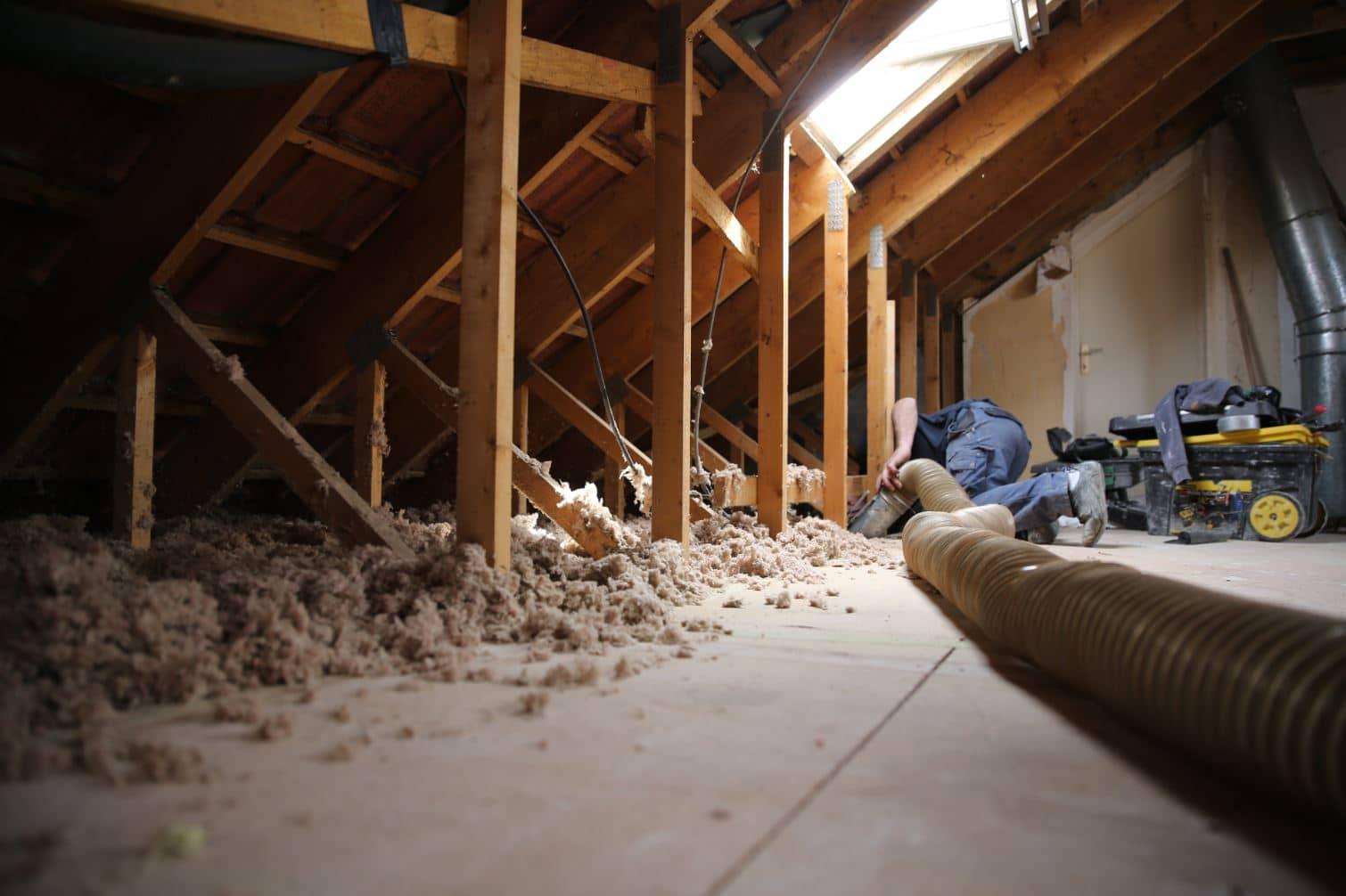 Isolation projet e dans les combles - Prix isolation interieure maison ...