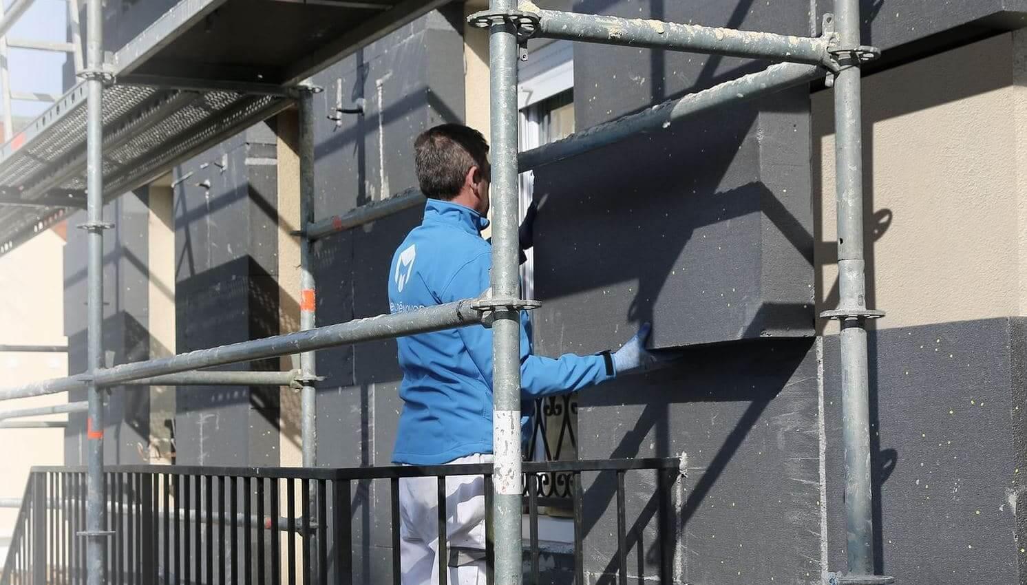 prix de l'isolation des murs par l'extérieur au m2