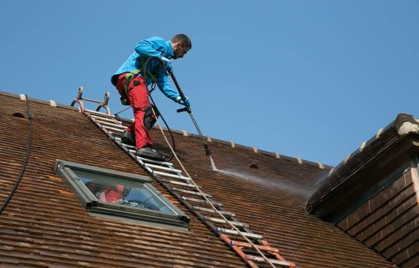 entreprise nettoyage toiture