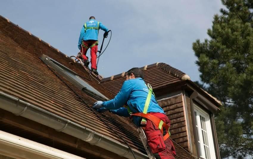 entreprise nettoyage toiture 92