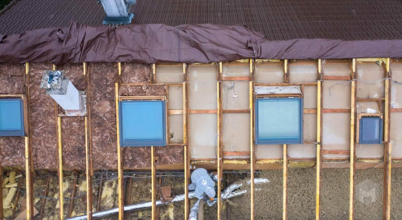 isolation toiture par exterieur prix m2