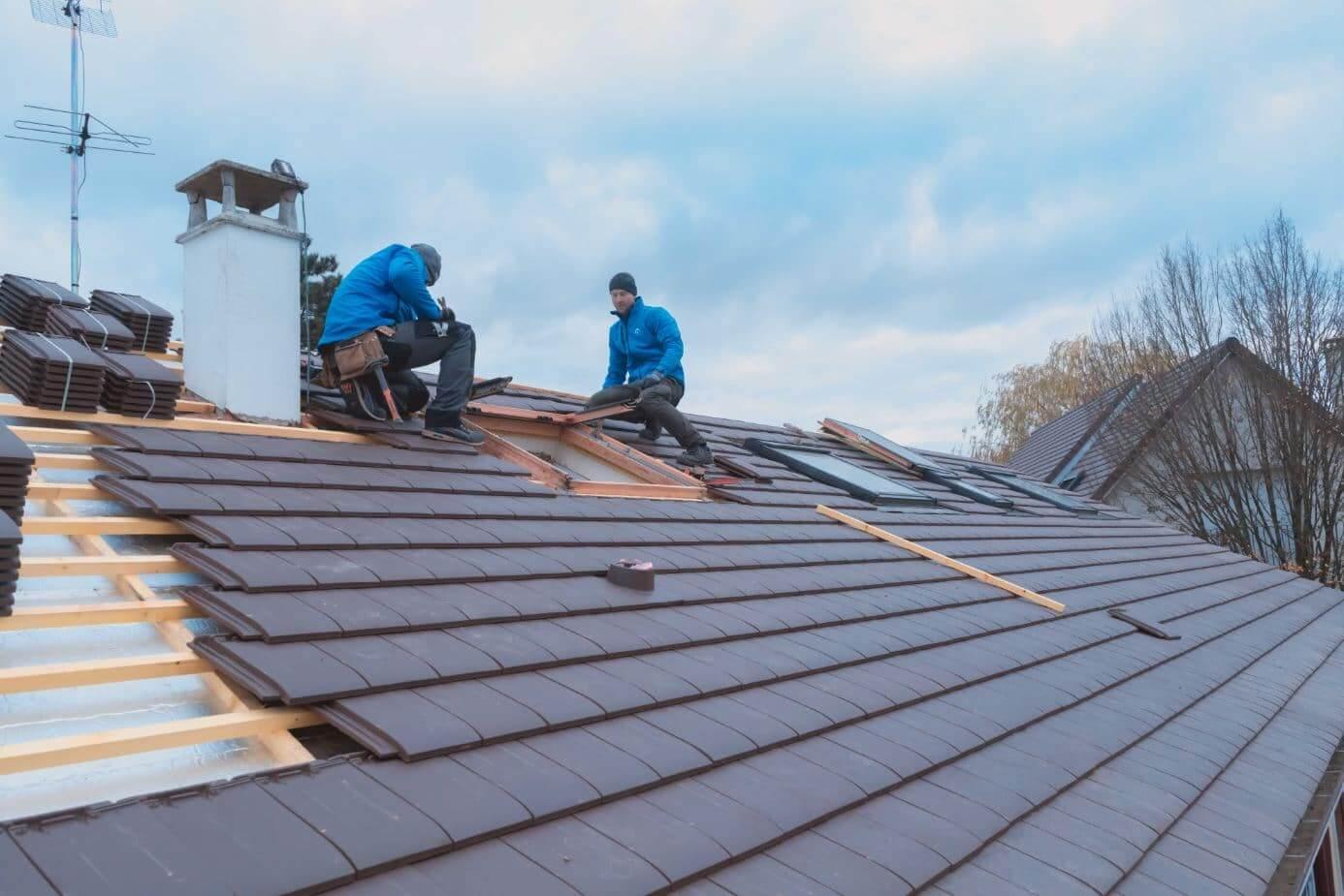 rénovation de toiture et isolation en sarking