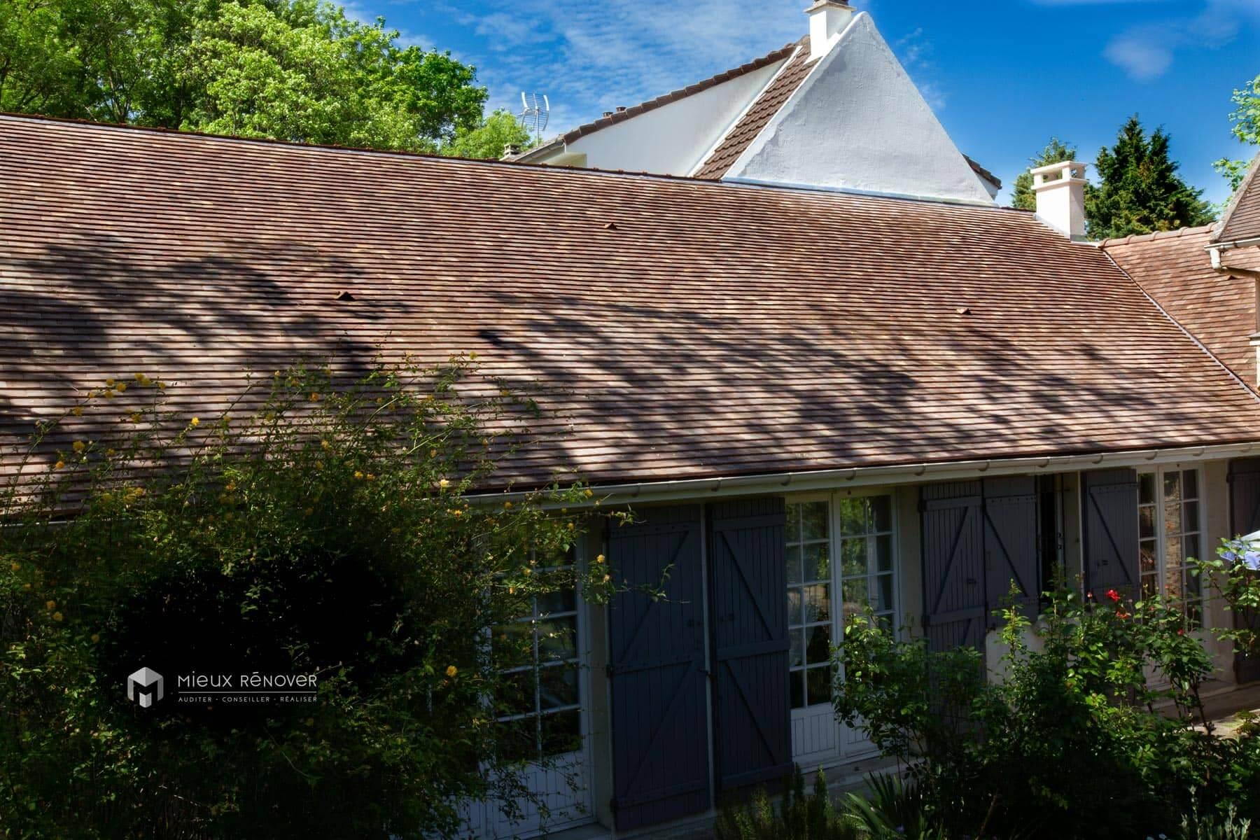 Rénovation de toiture avec isolation thermique par Mieux Rénover