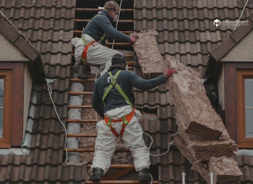 MaPrimeRenov pour isolation de toiture