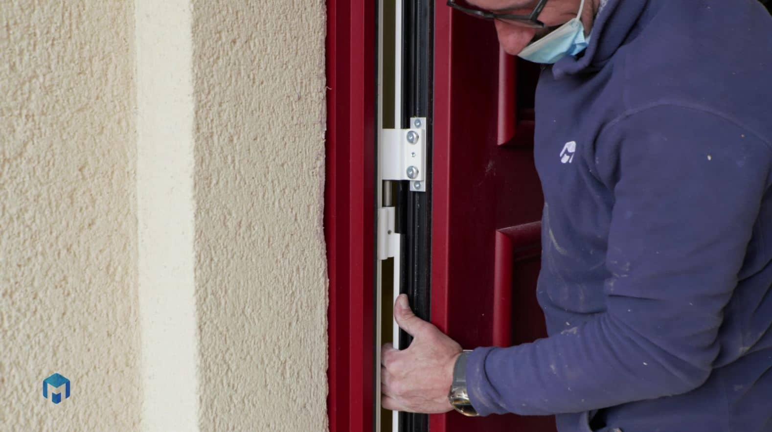 Pose de porte PVC en renovation dans l Essonne 91