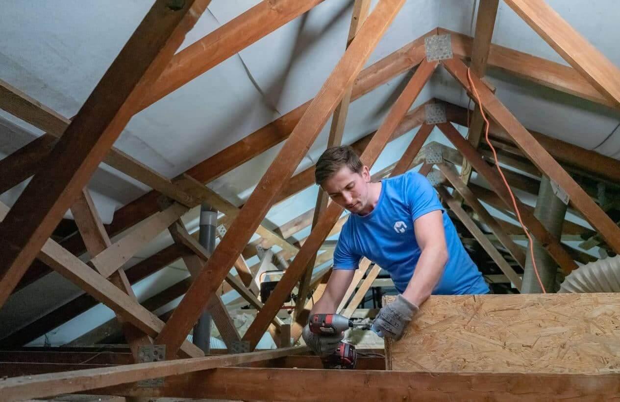 Travaux d'isolation des combles et de la toiture à Beauvais